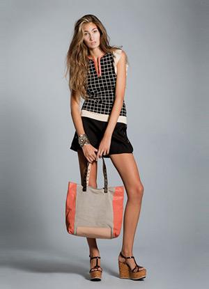 vestido corto verano 2013 Hoss Intropia