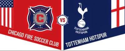 Chicago Fire 0 Tottenham 2