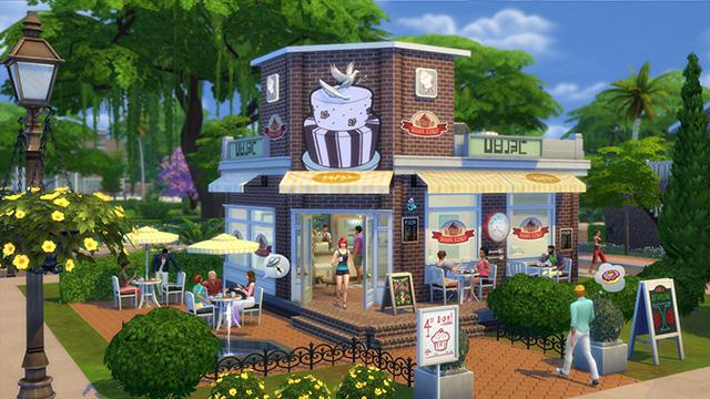 Lotes Comerciais Para O The Sims 4 Ao Trabalho The Sims Style