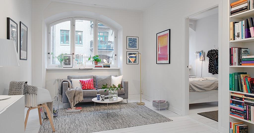 Una pizca de hogar soluciones para pisos peque os - Interiorismo pisos pequenos ...