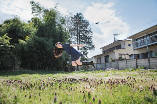 Natumi Hayashi - Levita ao ar livre