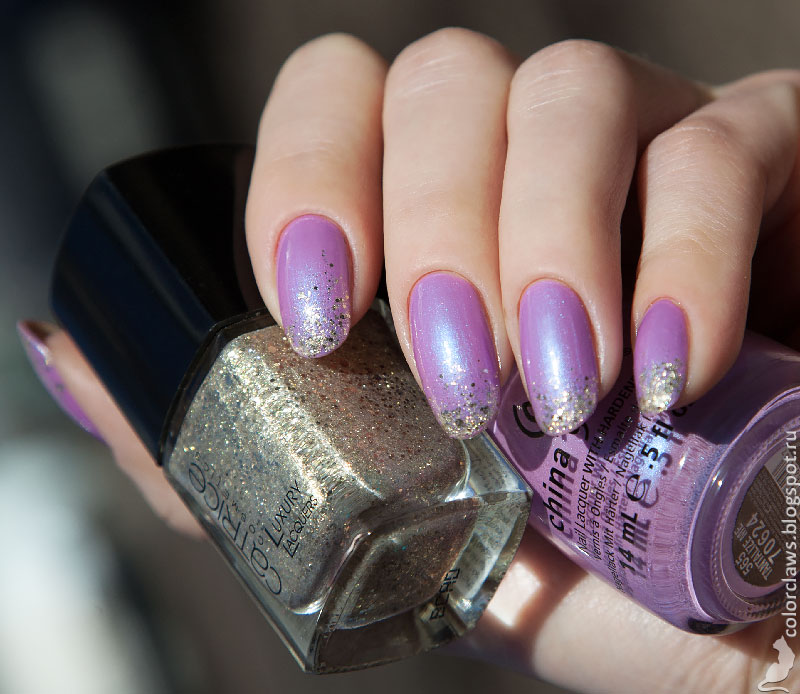 China Glaze Tantalize Me + Catrice Luxury Lacquers Stars & Stories