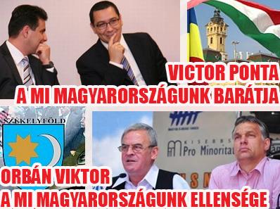 """""""Külpolitika egyszerűen. Victor Ponta itt volt az MSZP rendezvényén, hogy segítsen a demokratikus ellenzéknek. Victor Ponta, aki mellesleg Románia miniszterelnöke, tehát a barátunk. Tőkés László a Fidesz-rezsim és Orbán Viktor barátja. Tehát Tőkés László nem a barátunk. Ne hagyjuk, hogy összeugrasszanak minket román barátainkkal!"""""""