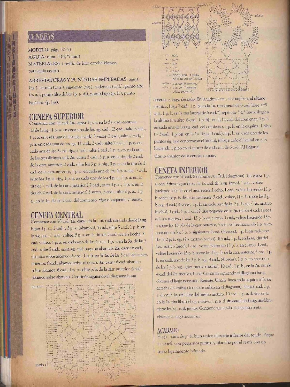#81 Cenefas a Crochet