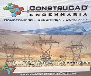 CONSTRUCAD  ENGENHEIHARIA  A  SERVIÇO  DAS PROPRIEDADES  RURAIS EM  PROJETOS