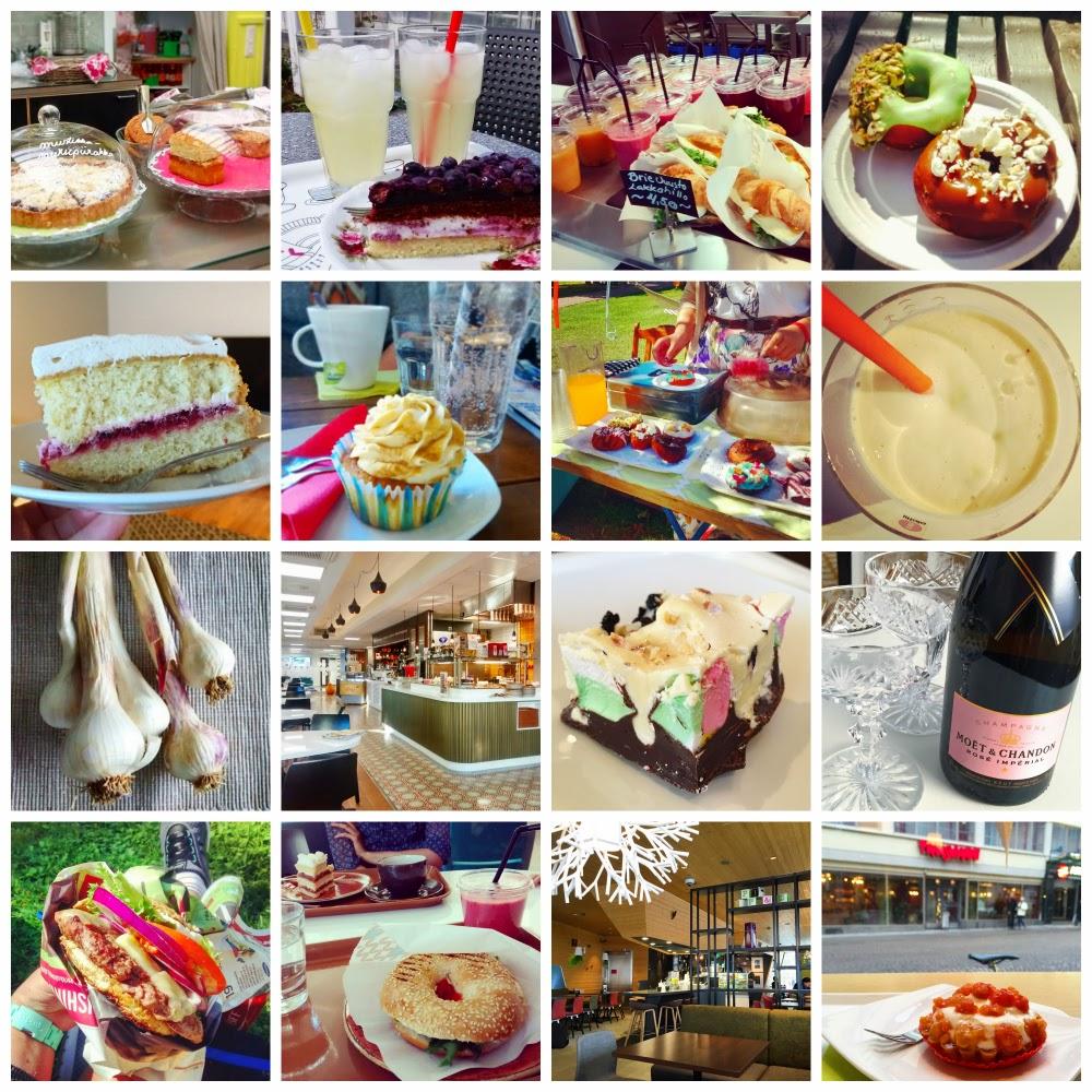 Instagram-ruokaa ja -ravintoloita