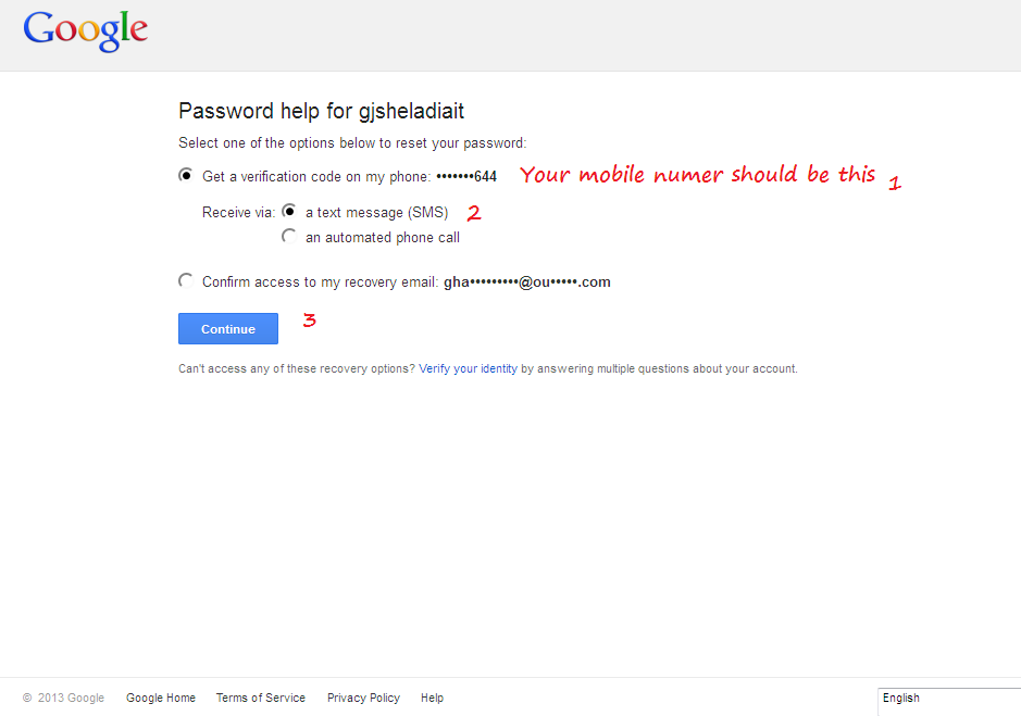 how to choose a password for gmail