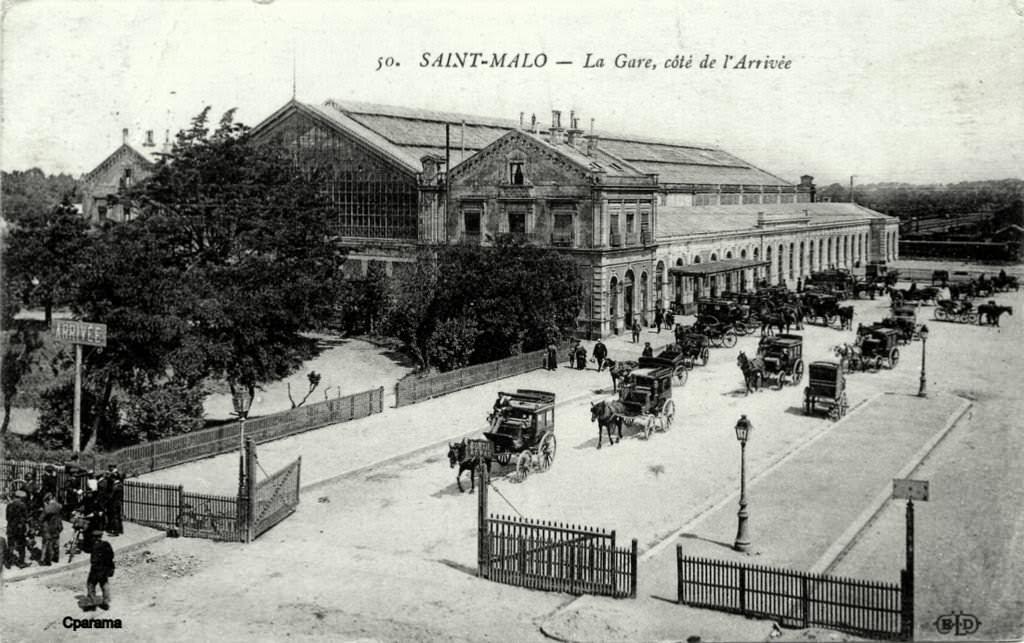 Horaires des trains au dpart de la gare de St-Malo