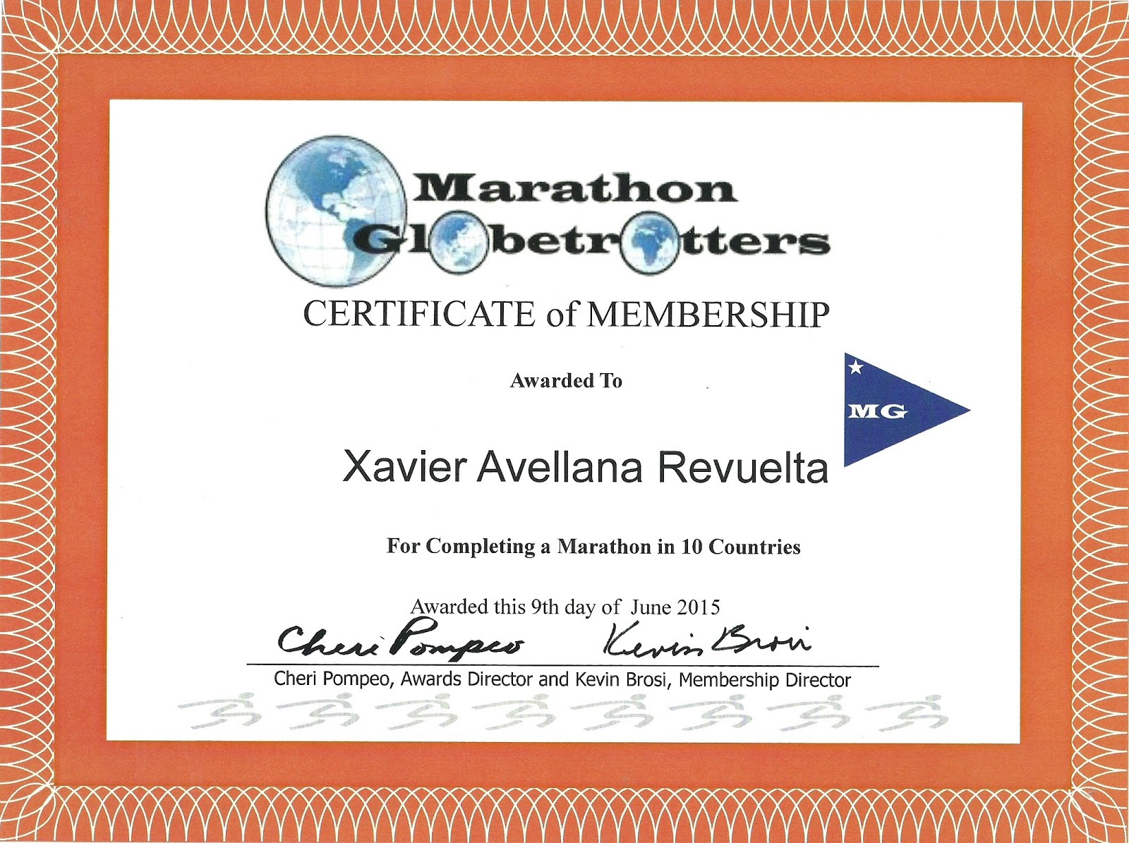 Marathon Globetrotters
