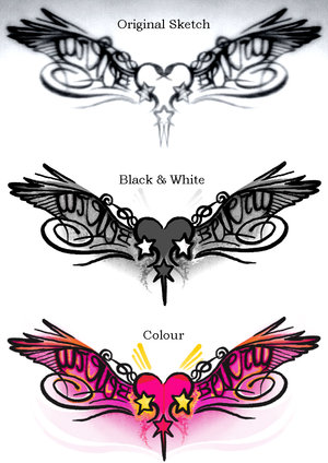 tattoo Bottom designs of the back