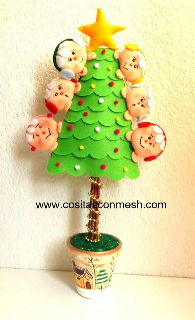 como hacer adornos navide os en casa cositasconmesh