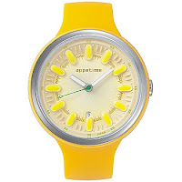 women's yellow watch