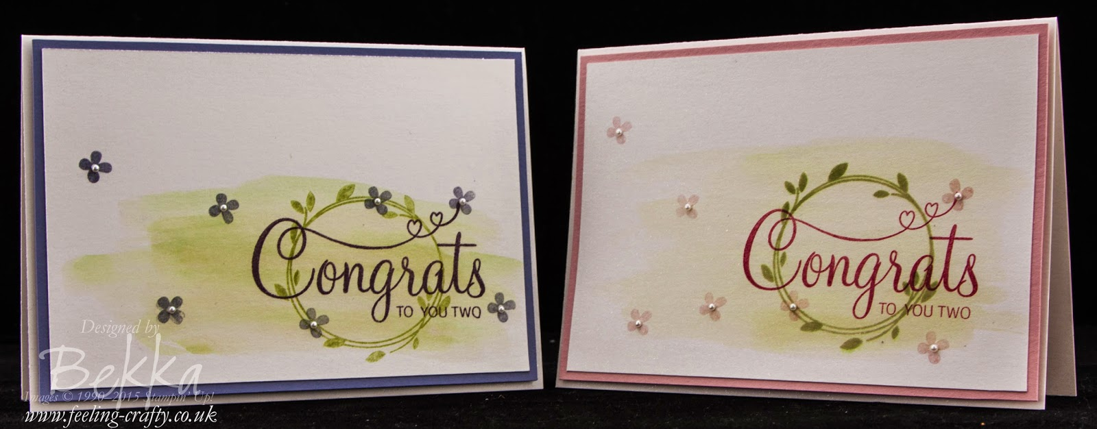 Love is in the Air!  Your Perfect Day Stamp Set from Stampin' Up! UK - Buy it here