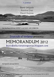 "MEMORANDUM 2012. II ANIVERSARIO DE ""LEYENDO EL TURISMO"""