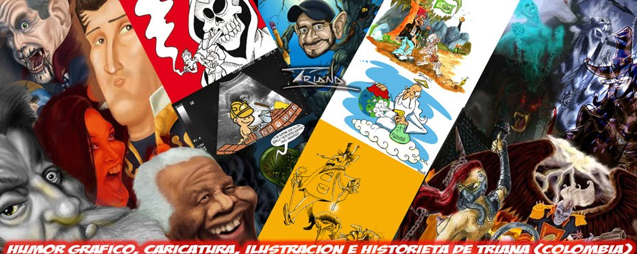 HUMOR GRAFICO, CARICATURA, ILUSTRACION E HISTORIETA DE TRIANA (COLOMBIA)