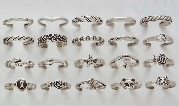 Health Toe Rings