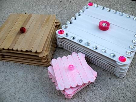Manualidades Cajas Decoradas Con Perlas