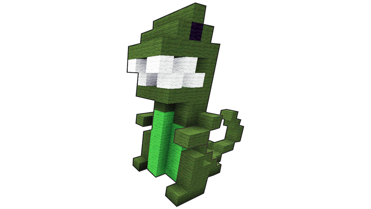 let u0027s build a simple 3d pixel dinosaur in minecraft minecraft