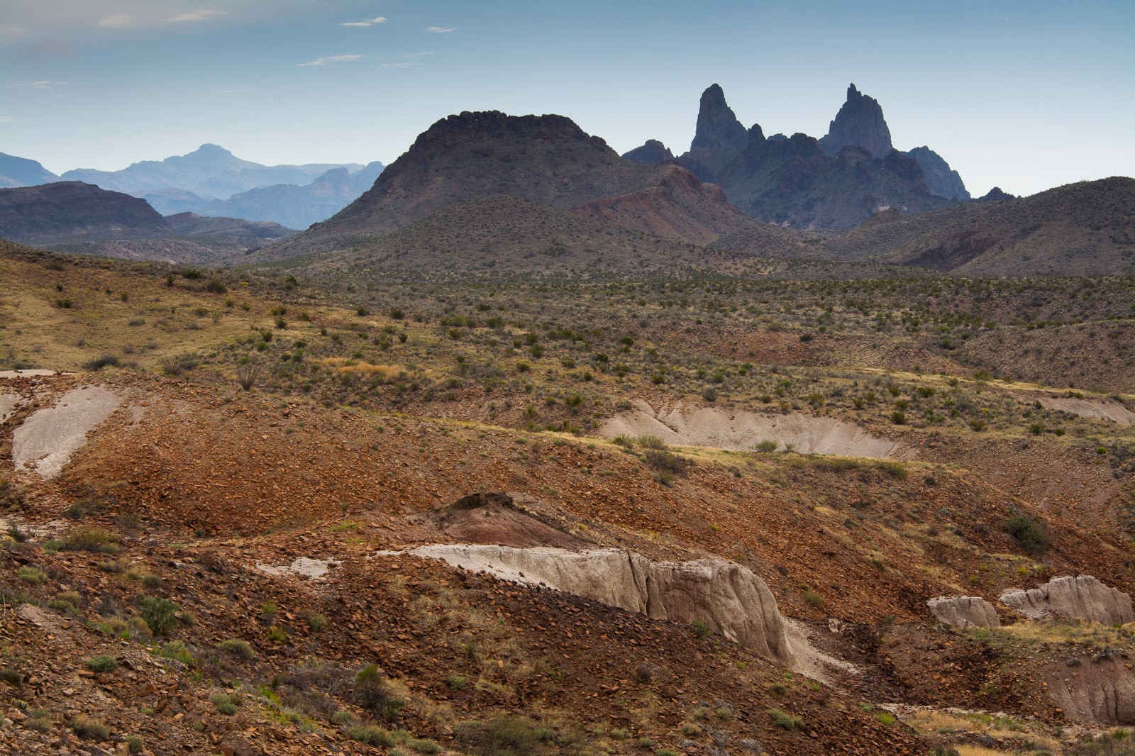 Mules Ear Peaks, Big Bend National Park