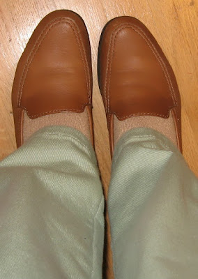 leather loafers flats