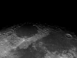 Mare Cirium crater moon