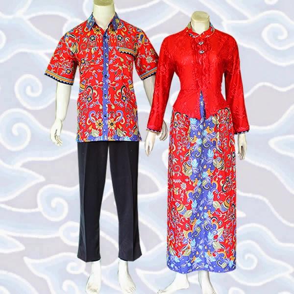 model baju gamis batik sarimbit couple muslim