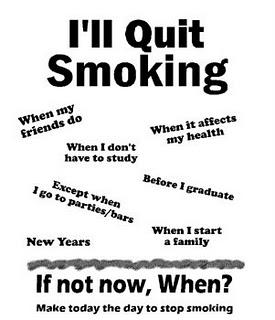 Tip Berhenti Merokok