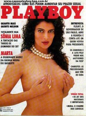 Sônia Lima - Playboy 1991