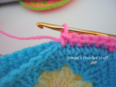 Crochet Whip Stitch : tips on some different sew and non sew ways to join crochet pieces ...