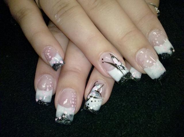 The Amazing White nail designs tumblr Pics
