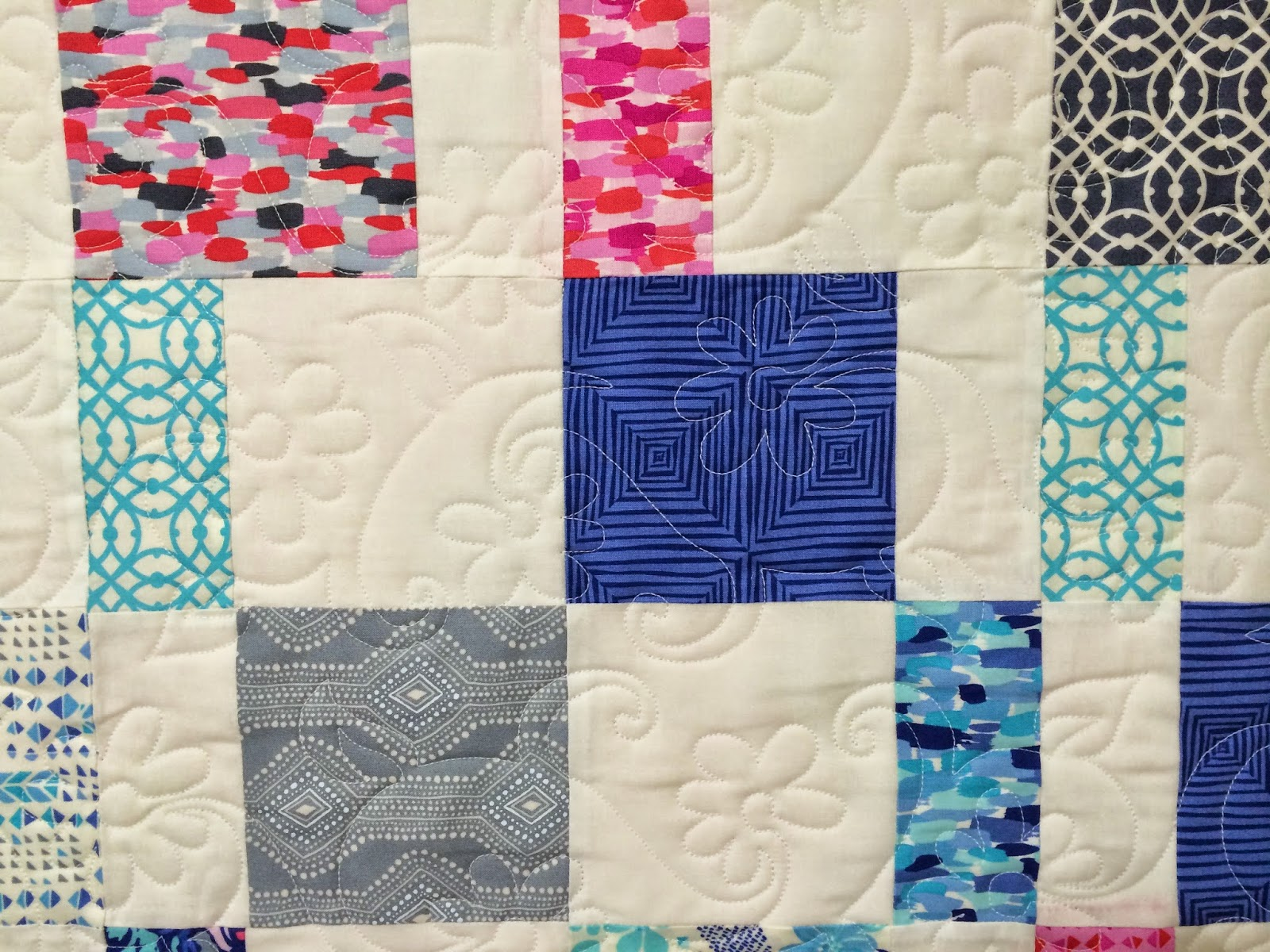 Kelly Sears Scrappy Quilt