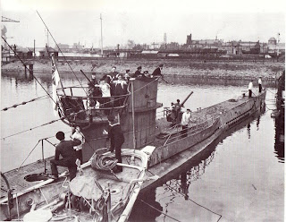 German Type VII U-Boat