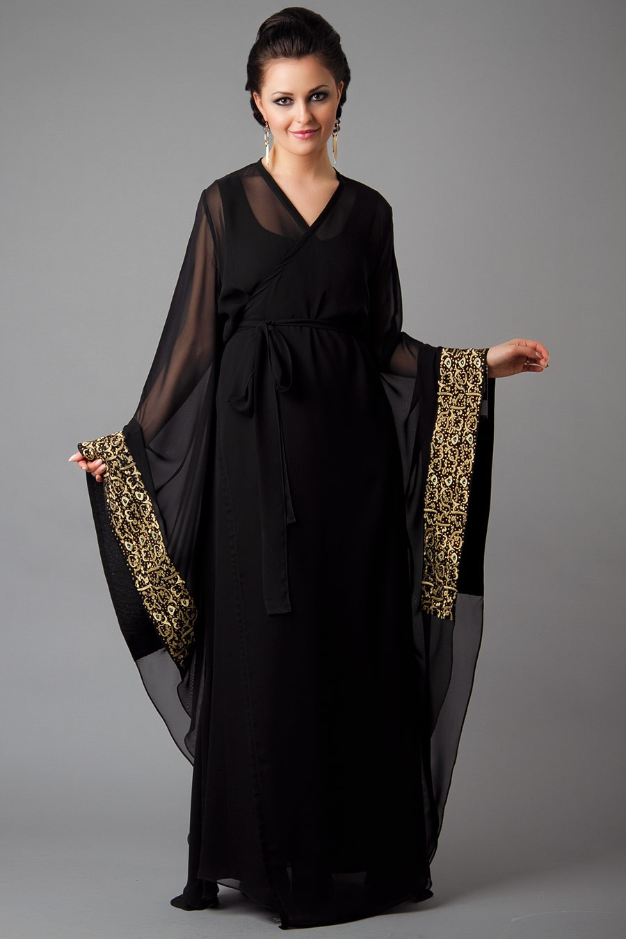 patterns lets catch the whole new looks of islamic abaya dresses