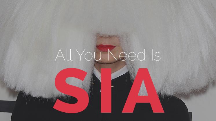 """Sia pode não ter composto """"I Knew You Were A Trouble"""", da Taylor Swift, mas continua sendo uma das maiores compositoras pop dos últimos anos."""