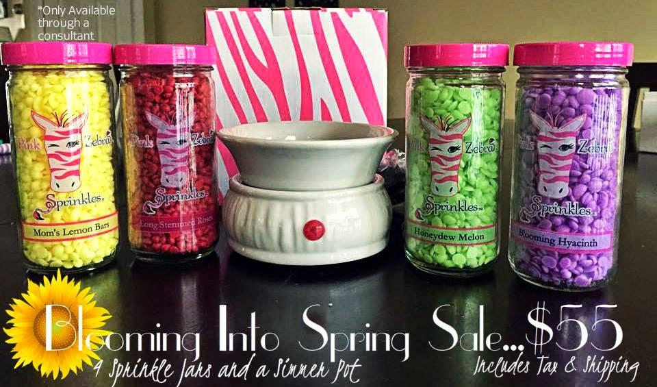 pink zebra sale image