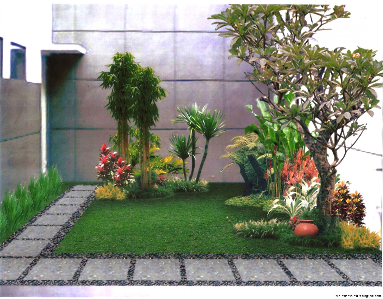 Desain Taman Rumah Minimalis3