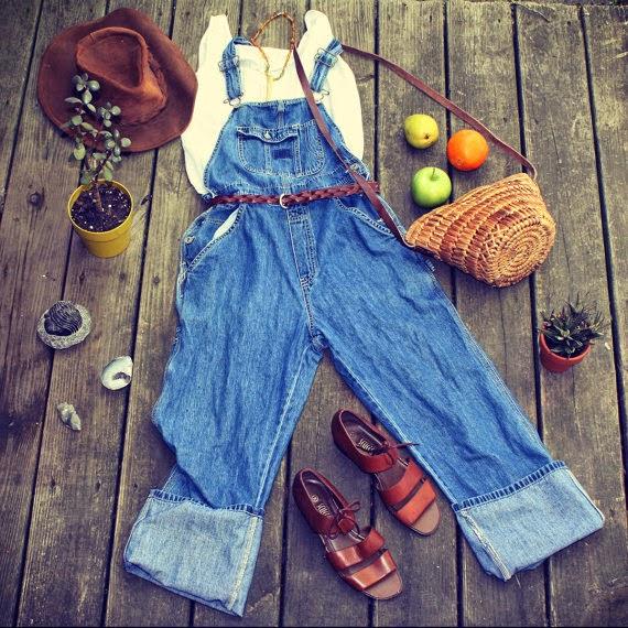 Salopet- Bahçivan Tulumu Moda Akımı