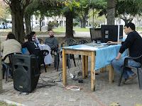 La Cámpora Magdalena realizó una radio abierta por el 25 de Mayo