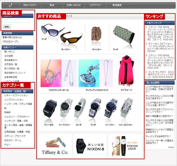 リスクゼロドットコム商品の探し方