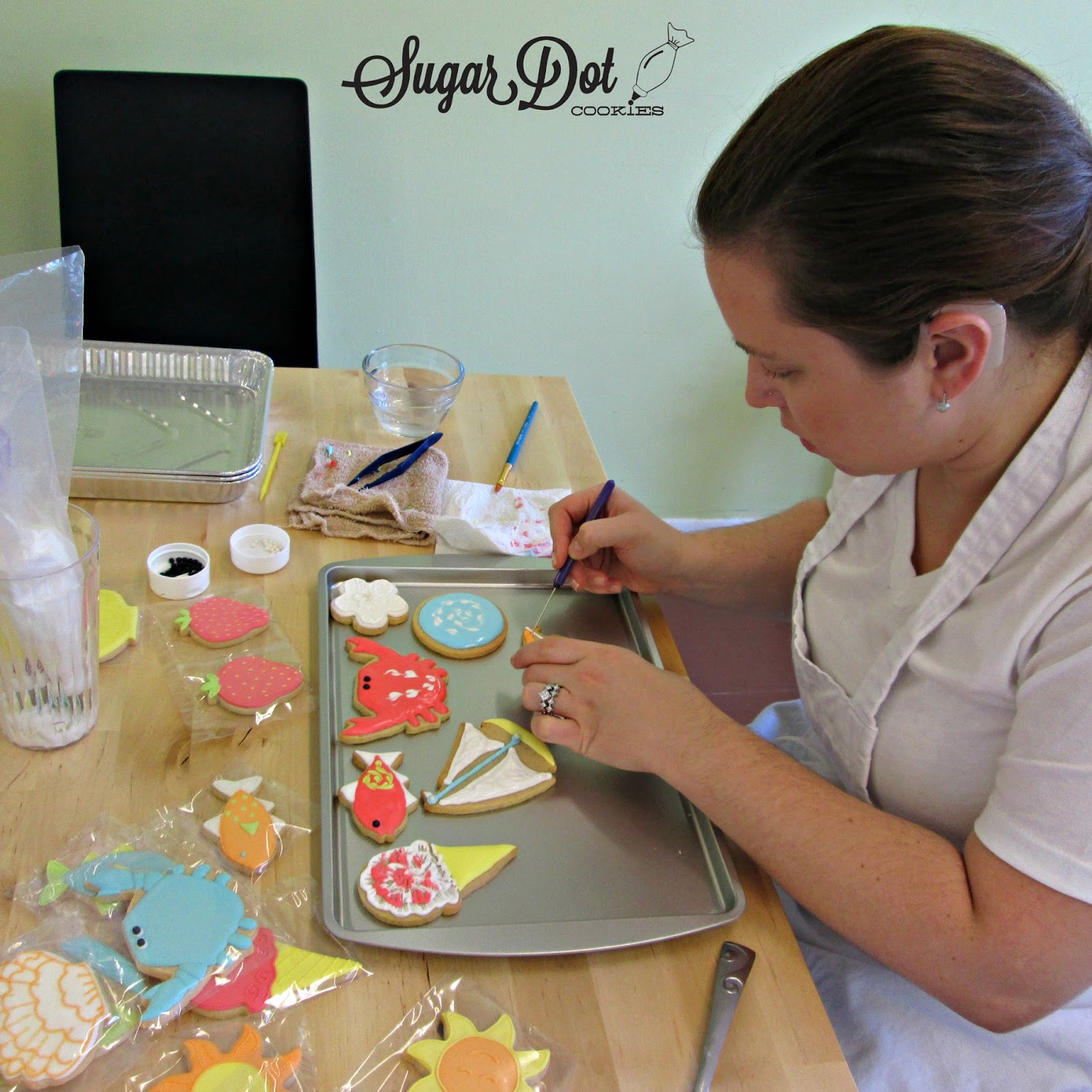 Cookie Decorating Classes Sugar Dot Cookies Cookie Decorating Classes In Middletown Md