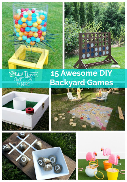 I Am Bringing You Lots Of Ideas For DIY Backyard Games To Make Those Summer  Get Togethers Even More Fun!