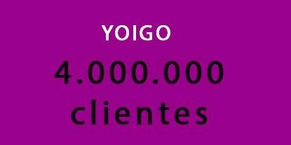 Yoigo alcanza los 4 millones de clientes