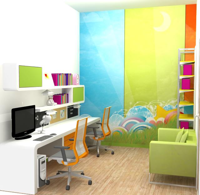 Cara Mendekorasi Lorong Rumah: Desain Interior Ruang Belajar Yang Nyaman