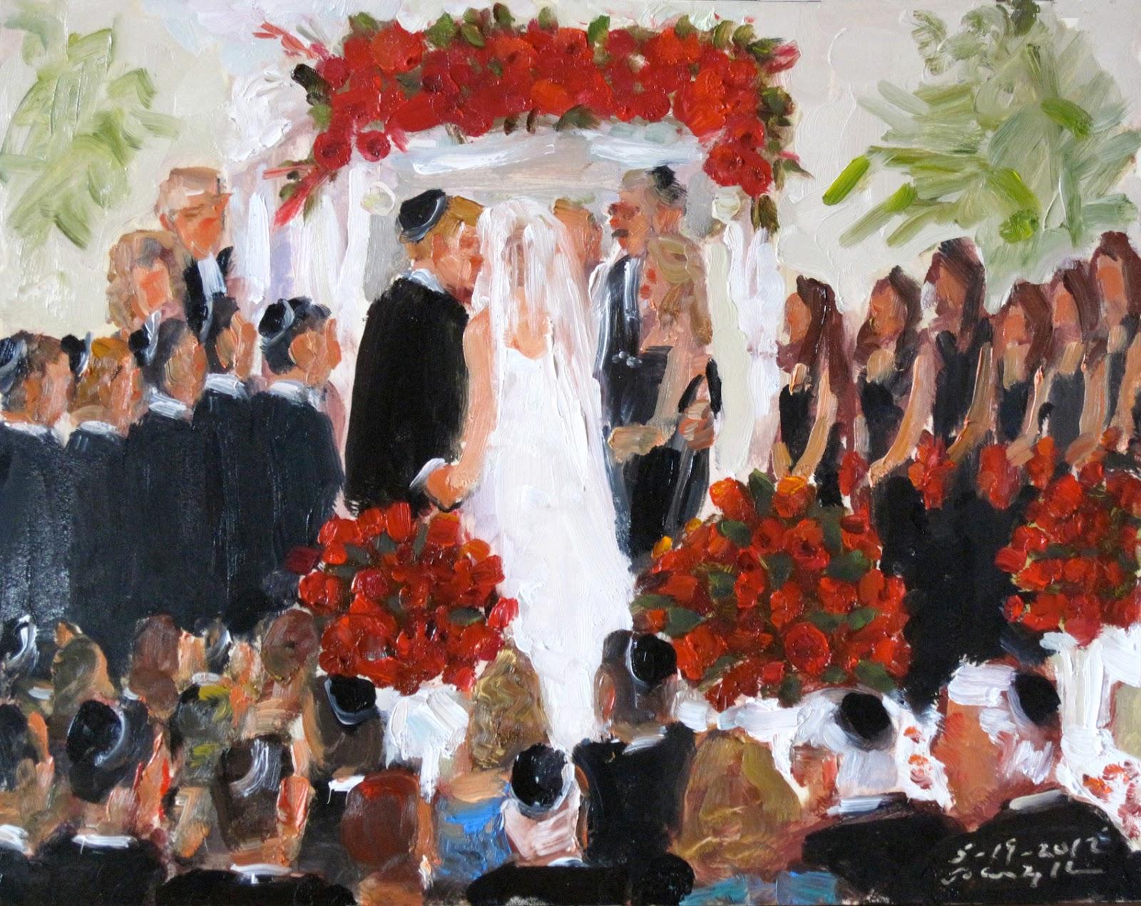 Live Event Painting. Joan Zylkin blogs: June 2012