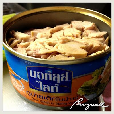 Making Tuna Salad Sandwich