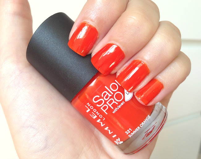 rimmel summer orange