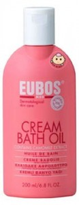 Eubos Cream Bath Oil demam campak