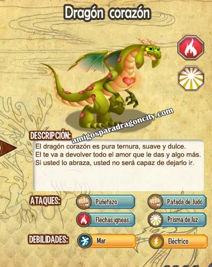 imagen de las caracteristicas del dragon corazon