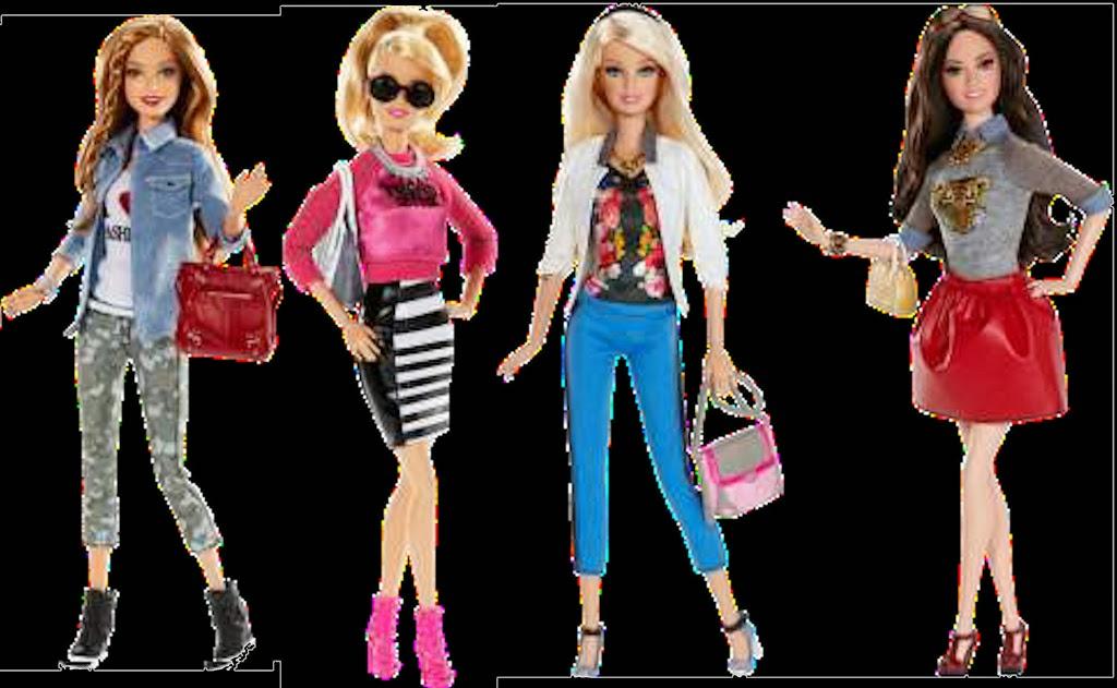 Zobacz W Tek Barbie Glamour Luxury Fashion