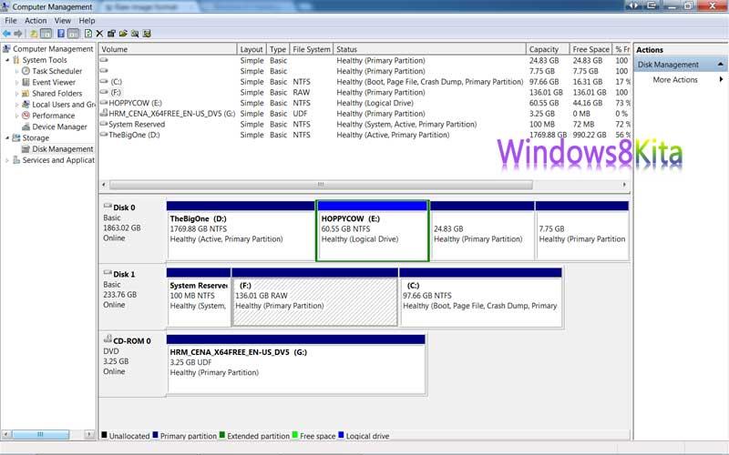 Christino Cara Instal Windows 8 Tanpa Menggunakan Usb